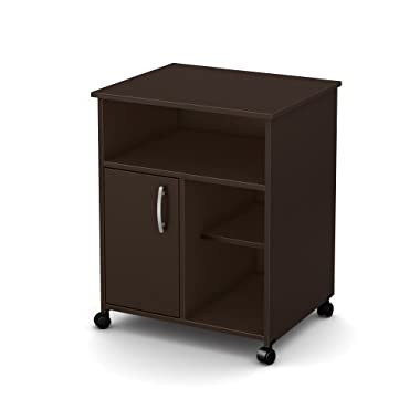 South Shore Axess Collection Printer Stand, Chocolate