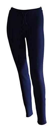 Private Island Hawaii UV Women Rash Guard Pants (XX-Large, Navy)