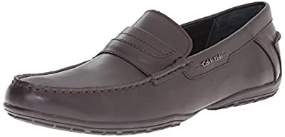 Calvin Klein Men's Walden Leather Slip-On Loafer