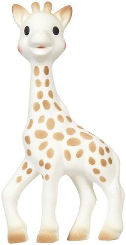 Vulli Sophie la girafe de dentition, Brun / Blanc