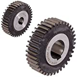 58 tooth spur gear - Precision spur gear made of steel 16MnCr5 module 1 36 teeth bore 10mm hardened and ground outside diameter 38mm