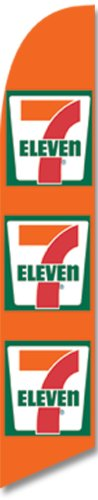 7-Eleven Store Feather Banner Flag