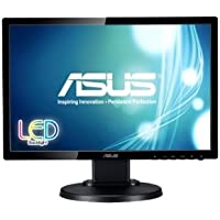 Asus Computer International - Asus Ve198tl 19 Led Lcd Monitor - 16:9 - 5 Ms - Adjustable Display Angle - 1440 X 900 - 16.7 Million Colors - 250 Nit - 10,000,000:1 - Wxga+ - Speakers - Dvi - Vga - 25 W - Black Product Category: Computer Displays/Monitors