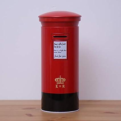 Amazon.com: Zhoyea Storage Box Creative Postbox Piggy Bank ...