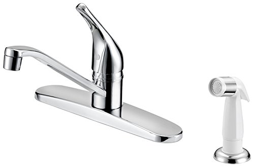 Boston Harbor FS610046CP Faucet Kitchen 8in Lever Chrm, 8