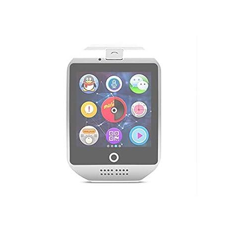 SHISI Ranura Inteligente Reloj con cámara SmartWatch TF Tarjeta ...