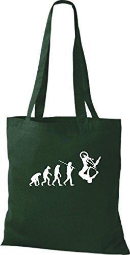 For Shirtinstyle Gruen Gray Bag Women Cotton Fabric ffRwZxqtO