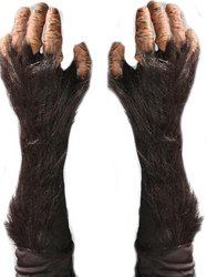 [Adult Chimp Gloves PROD-ID : 1442190] (Chimp Hands Costume)