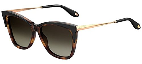 Sunglasses Givenchy Gv 7071 |S 0WR7 Black Havana | HA brown gradient lens