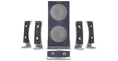Altec Lansing 5100 5.1 Computer Speakers 6-Speaker, Black