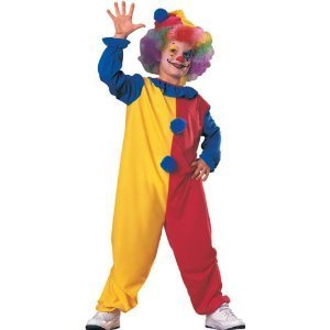 [Rubies Kids Clown Costume Age 8-10 Years] (Boy Clown Costumes)