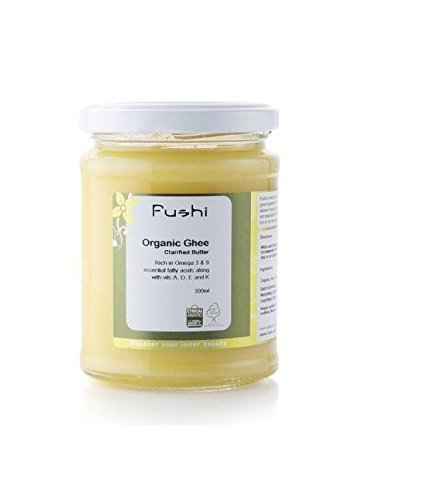 (3 PACK) - Fushi Organic Ghee - Grass Fed| 300 ml |3 PACK - SUPER SAVER - SAVE MONEY by Fushi Wellbeing (Image #1)