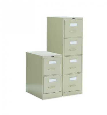 Grafco FGL25-450 File Cabinet, Vertical, Four Drawer, Legal Size