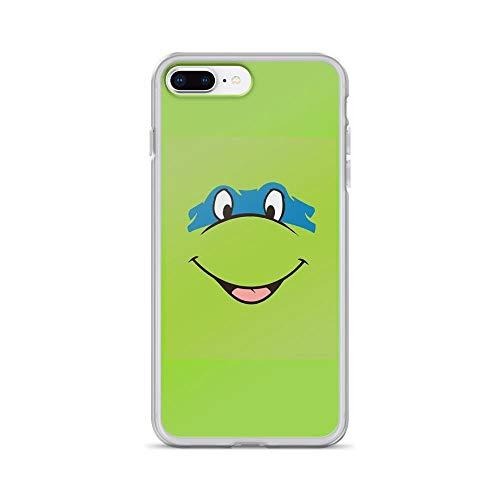 iPhone 7 Plus/iPhone 8 Plus Case Clear Anti-Scratch TMNT Teenage Mutant Ninja Turtles Leonardo Michelangelo Donatello Raphael Mikey Green Cover Phone Cases for iPhone 7 Plus iPhone 8 Plus -
