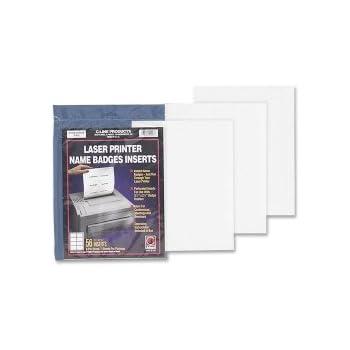 Amazon.com: C-Line 92443 identificadoras, 4 x 3, blanco, 60 ...