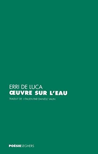 Amazoncom Oeuvre Sur Leau Poésie French Edition Ebook