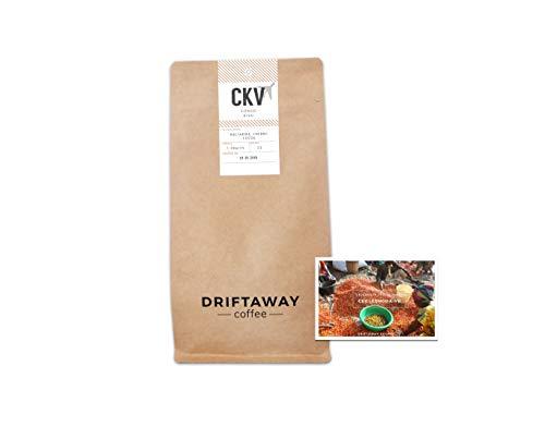 Driftaway Coffee - Fresh Roasted Artisanal Coffee, Light Roast, Whole Beans, Single Origin, 100% Arabica, Gourmet, Roasted in Brooklyn, Perfect for Pourover (11 Ounce), Fruity