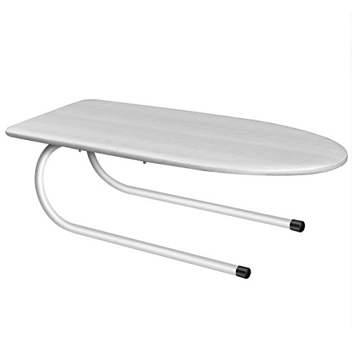 Paksima  Tabletop Mini Ironing Board with Folding Leg - Compact Design - Perfect for Dorms and Small Spaces - Stylish Folding Ironing Board with Cotton Cover – Best Gift Idea by Paksima