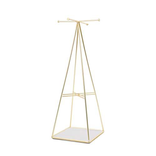 Umbra Prisma Jewelry Stand, Matte Brass ()