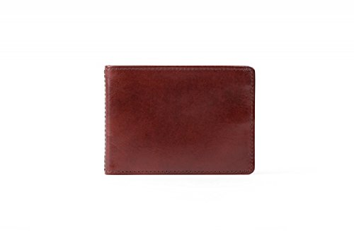 Bosca Men's Small Bifold Wallet, Dark Brown (Bosca Bi Wallet Fold)