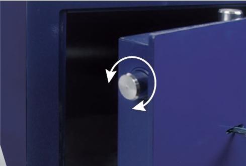 Arregui 15000WB-S2 Caja Fuerte de empotrar electr/ónica con Llave.340x245x200-300mm Azul 340 x 245 x 200-300 mm
