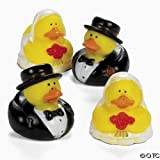 : Bride And Groom Rubber Duckys [Toy]
