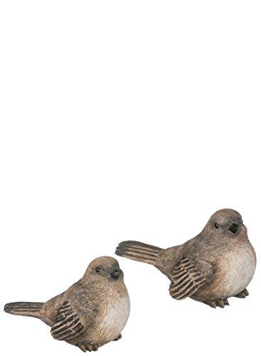 "Sullivans Set of 2 Resin 4"" x 5.5"" Bird Figurines"