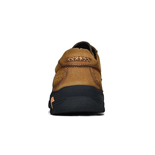 Miyoopark UK-XCR9887B, Herren Sneaker, Beige - Hellkhaki - Größe: 38