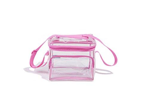 Medium Clear Event Bag Pink ()
