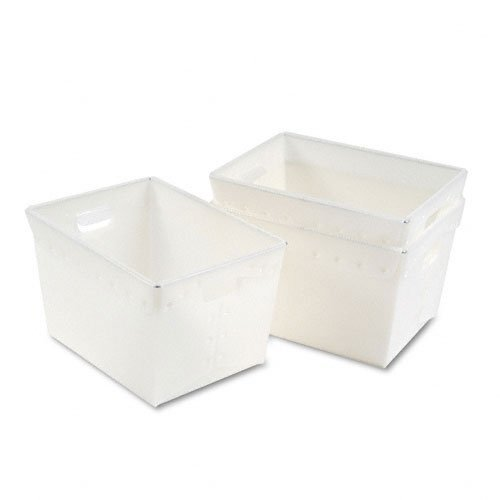 Mayline Kwik-File Mailflow-to-Go Mail Totes, Carton of 3