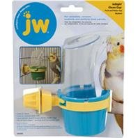 JW CLEAN CUP FEED AND WATER CUP - MEDIUM