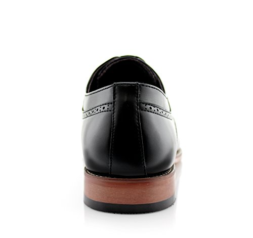 Oxford Ferro Brogue Aldo Perforated Classic Dress Mens Black Derby Shoes xCYwrCP