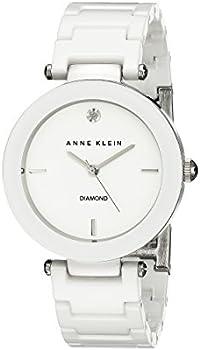 Anne Klein Diamond-Accented Women's Watch