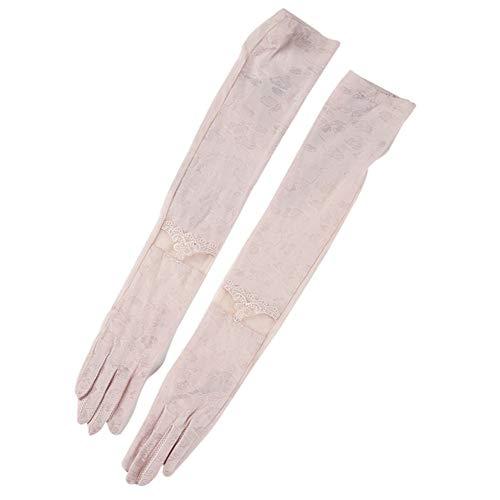 交じる哀ペック[BESTLEE] 手袋 UVカット アームカバー 指掛けタイプ 日焼け止め 冷房対策 ウェディンググローブ ロング ストレッチ ブライダル手袋