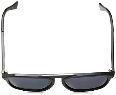 Calvin Klein Men's Ck4317s Oval Sunglasses, Grey, 58 mm