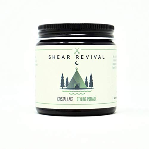 Shear Revival Crystal Lake Water Based Pomade 4oz (The Best Water Based Pomade)