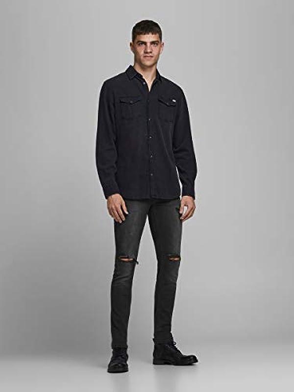 JACK & JONES Męskie Jeans: Odzież