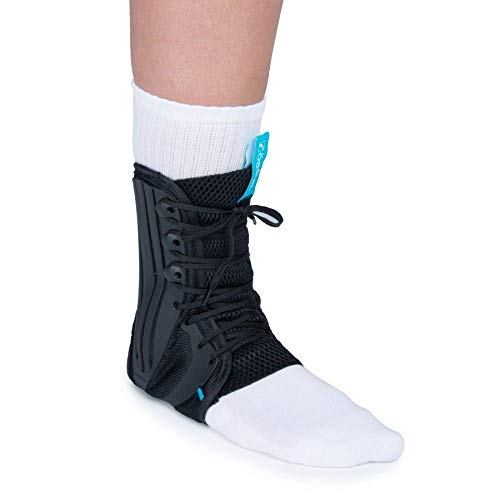 - Ossur Formfit Ankle Brace, Standard Version - Breathable Material, Quick Lace Up & Inversion/Eversion Control (Small)