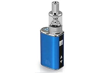 Totally Wicked Cigarrillo Electronico ARC Mini 20W + 1 bote de liquido Sin Nicotina (Azul): Amazon.es: Salud y cuidado personal