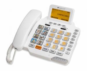 CSC1000 Amplified FreedomTalk Amplified Phone by ClearSounds