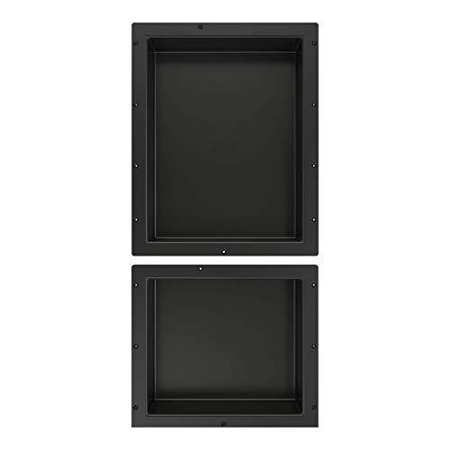 Tile Redi USA RND1620S-14 Shower Niche 16''W x 34''H Black by Tile Redi USA (Image #3)
