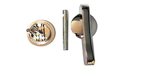 Toilet Partition Latch Knob Set by File Bar Factory