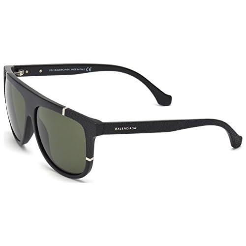 86904e25a180 hot sale 2017 Sunglasses Balenciaga BA 25 BA0025 02N matte black   green