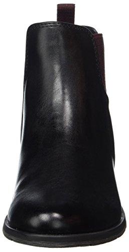 Marco Tozzi Damen 25040 Botina Schwarz (ant.comb Negro) El mejor vendedor para la venta O3WGo0