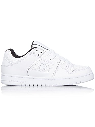 DC Zapatos Manteca Se Blanco-Negro
