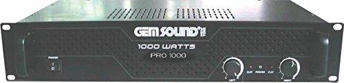 GemSound PRO1000 Power Amplifier ()