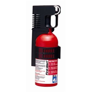 First Alert Fesa5a Auto Fire Extinguisher, Ul Rated 5-b:c, Red
