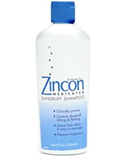ZINCON SHAMPOO Size: 8 OZ (Pack of 2)