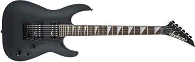 Jackson JS Series Dinky Arch Top JS22 Electric Guitar (Satin Black, Amaranth Fingerboard)