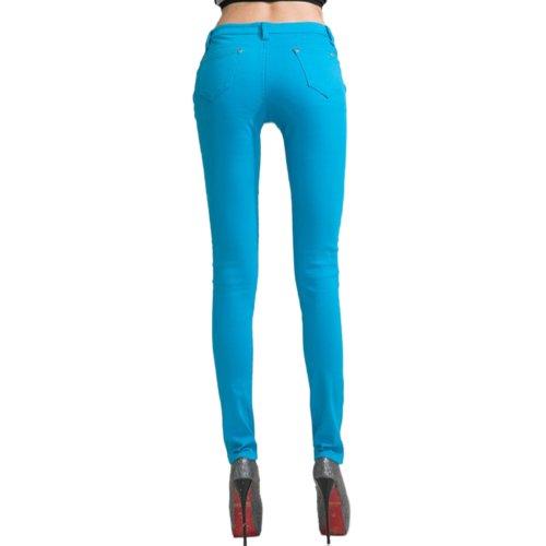 Jeans Azul Hee Blue Skinny Mujer Grand sky qpwnnUtAx
